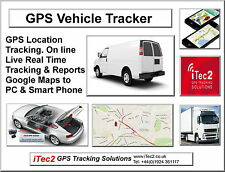 GPS GPRS Tracker Unit for Car Truck Heavy Plant SUV Quad Motor Home