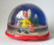 Vintage Homeless traveler in Winter Collectible Snow Globe #209