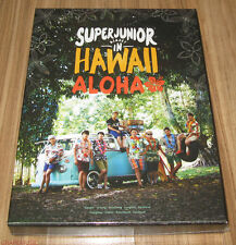 SUPER JUNIOR Memory In Hawaii ALOHA PHOTOBOOK + DVD + POSTCARD SET + POSTER NEW