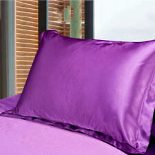 New Pillow Case Luxury Case Silk Satin Housewife Pack Bedroom Soft Pillow Cover