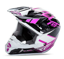 Fly Racing Kinetic Impulse MX motocross helmet girl pink adult X Large 73-3369X