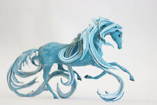 Turquoise horse,horse figurine,fluffy mane,turquoise,horse sculpture,figure