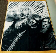 Nirvana 42x29 Polyester Cloth Fabric Poster Flag Textile Wall Banner Kurt Cobain