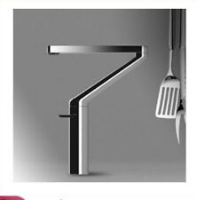 Modern Chrome Brass Bathroom Basin Faucet Swivel Spout Kitchen Sink Mixer Tap
