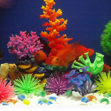 Beauty Fake Aquarium Coral Plant Underwater Ornament Soft Silicone Fish Tank