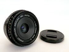 Rare Porst Color-Reflex MC 40mm F2.5 Pancake Lens in Pentax PK Mount