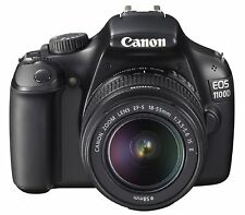 Canon EOS 1100D SLR-Digitalkamera Kit inkl. EF-S 18-55mm 1:3,5-5,6 IS II