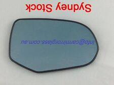 RIGHT DRIVER SIDE HONDA ODYSSEY 2004 - 2006 RB1 MIRROR GLASS WITH BASE (BLUE)