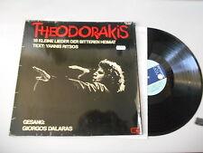 LP Polit Giorgios Dalaras - Mikis Theodorakis : 18 kl Lieder (18 Song) METRONOME