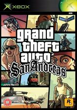 Gta Grand Theft Auto San Andreas + Mapa Xbox