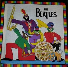 "16"" THE BEATLES MUSIC ROCK BAND PLAYING SUBMARINE ACCENT PILLOW SHAM COVER"