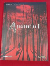 GUIDE RESIDENT EVIL 4 PLAYSTATION 2 GAME CUBE GAMECUBE PC