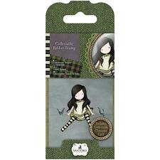Gorjuss Girl SANTORO Cling Unmounted Rubber Stamp TOP OF WORLD GOR 907312 NEW