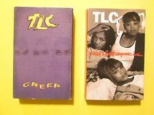 LOT of 2 TLC Cassette Tape Singles Red Light Special + Creep