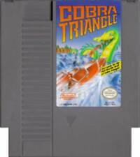 Cobra Triangle - NES Nintendo Boat Racing Game