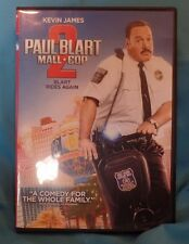 PAUL BLART MALL COP 2, KEVIN JAMES, COMEDY, 2015, DVD FORMAT, PG, Ng org cle, PG