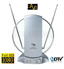 50+ MILE DIGITAL INDOOR/OUTDOOR TV ANTENNA LAVA HDTV DTV HD VHF/UHF