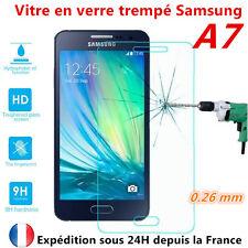 Vitre de protection en Verre trempé Film de protecteur d'écran Samsung Galaxy A7