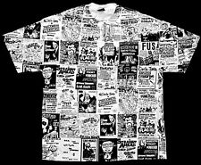 PUNK FLYERS MEATMEN CRO-MAGS SHIRT MINOR THREAT BLACK FLAG ANTIDOTE N.Y.H.C. KBD