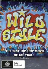 Wild Style DVD - GRANDMASTER FLASH - HIP HOP DOCUMENTARY NEW & SEALED