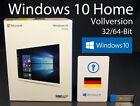 Microsoft Windows 10 Home Vollversion 32/64-Bit USB 3.0 SB Deutsch OVP NEU