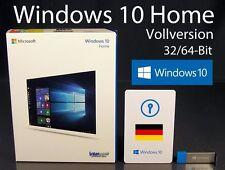 Microsoft Windows 10 Home Vollversion 32/64-Bit USB 3.0 SB Deutsch OVP NEU
