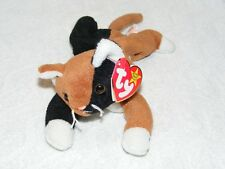 """1996 TY BEANIE BABIES """"CHIP"""" CALICO CAT With TAG GUC"""