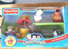 Fisher Price Little People BABY FARM ANIMALS B8796 2003 NEW in Box