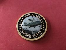 US President Marine One Helicopter Squadron HMX-1 Police Challenge Coin