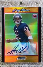 2007 BOWMAN CHROME ORANGE REFRACTOR AUTO /25 GREG OLSON RC hof