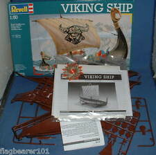 Revell Viking Ship Kit - Bits from 2 sets. 1:50 scale Plastic