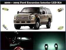 2000-2005 Ford Excursion - 16pc LED Interior Package - White