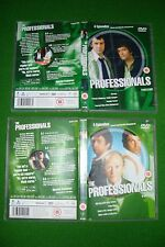 9 The Professionals DVD'S TV SERIES LEWIS COLLINS, MARTIN SHAW & GORDON JACKSON