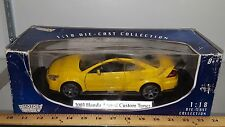 1/18 MOTORMAX 2003 HONDA ACCORD CUSTOM TUNER YELLOW gd