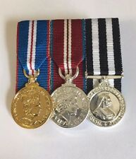 Miniature Queens Golden Jubilee& Diamond Jubilee, Service Medal of Order St John