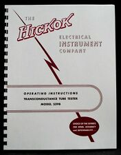 Hickok 539B Tube Tester Operating Manual
