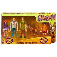 "SCOOBY DOO MYSTERY SOLVING CREW 5"" ACTION FIGURE FIVE PACK *NEW*"