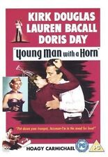 YOUNG MAN WITH A HORN DVD Kirk Douglas Lauren Bacall Brand New Sealed UK Release