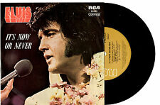 "ELVIS PRESLEY - IT'S NOW OR NEVER - EP 7"" 45 VINYL RECORD WRAP SLV 1975"