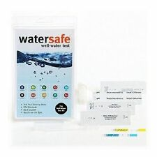 2 WaterSafe All-In-One WELL WATER Bacteria Lead Pesticides Test Testing Kit