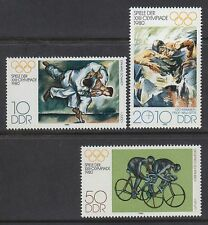 DDR East Germany 1980 ** mi.2528/30 Olympic summergames moscú Sports yudo
