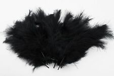 20 Pack Coloured Marabou Feathers 5-15cm-Fascinator, Fan, Costume, Haberdashery