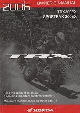 2006 HONDA ATV TRX300EX & SPORTRAX 300EX  OWNER MANUAL (227)