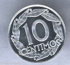 10 Centimos 1959 PROOF @@ F. Franco @ F.N.M.T. @@