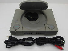Playstation 1 console SCPH-1000 system + Hook Ups- Repair as is Sony Japan