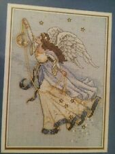 "Dimensions Gold Cross Stitch 16 Count Twilight Angel 5"" X 7""  Christmas Angel"