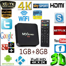 MXQ Pro Android 6.0 Smart TV Box Quad Core Kodi 16.1 Amlogic S905X 4K Ultra HD