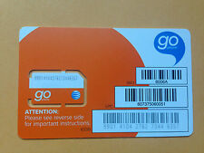AT&T 4G LTE Prepaid Regular Size Sim Card to use with old at&t phone SKU 6006A