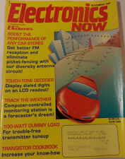 Electronics Now Magazine November 1993 Transistor Cookbook Track the Weather