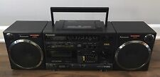Panasonic XBS Model RX-DS650 Boombox Portable Stereo CD Tape System Blaster Rare